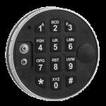 trezorová elektronická klávesnice DE2010